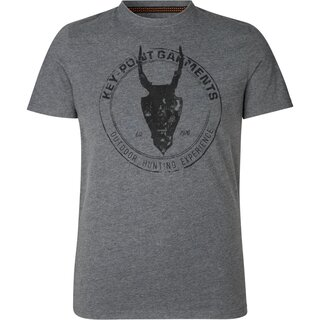 SEELAND® Key-Point T-shirt (Grey Melange)